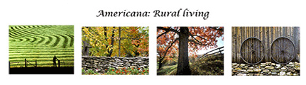 Americana Rural Living Card Set